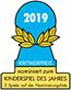 Nominiert für Kinderspiel des Jahres 2019
