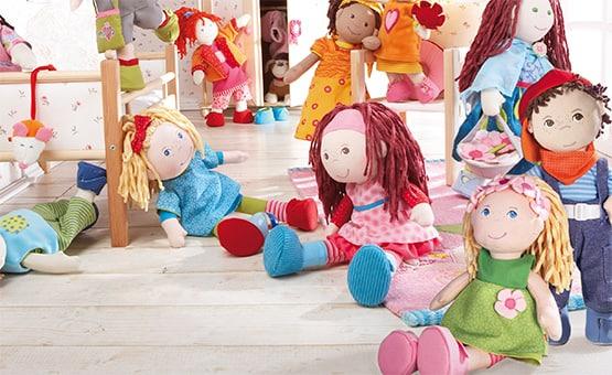 ¿Qué idioma hablan las muñecas de HABA?