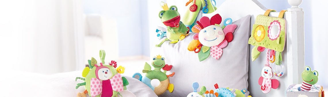 The new HABA fabric toys – as colorful and varied as spring | HABA ...