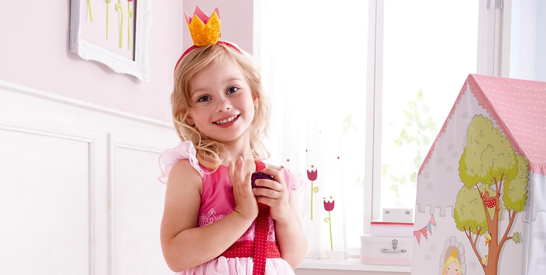 Una fabulosa diversión de juego para pequeñas y grandes princesas