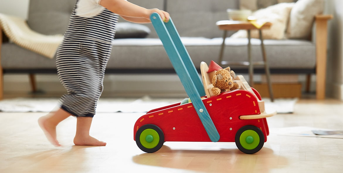 The perfect companion as your baby takes its first steps
