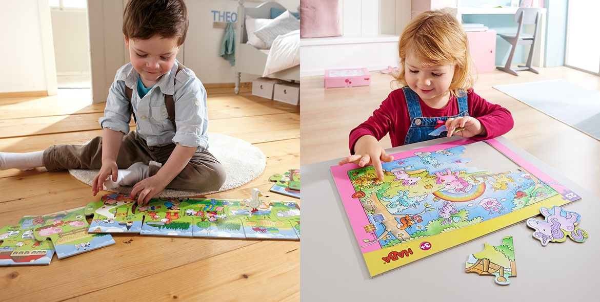 Puzzle enjoyment for young and old