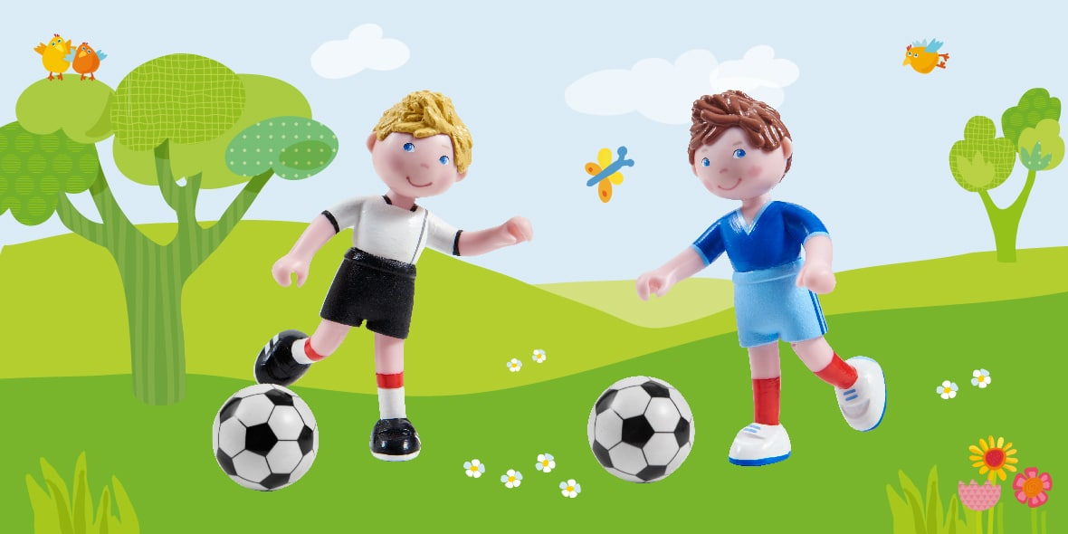 Come on, Little Friends – score another goal!