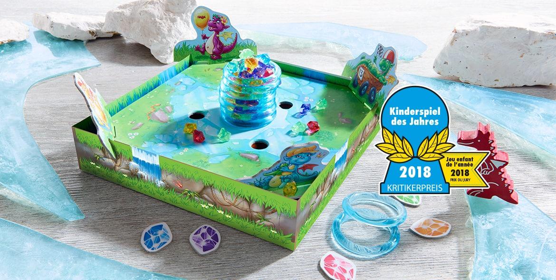 Le Trésor de glace de HABA remporte le prix du jeu de l'année 2018 « Kinderspiel des Jahres 2018 »