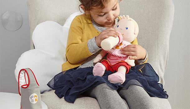 So many ways to enjoy playing with HABA dolls.