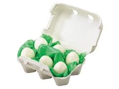 6 Eier im Karton