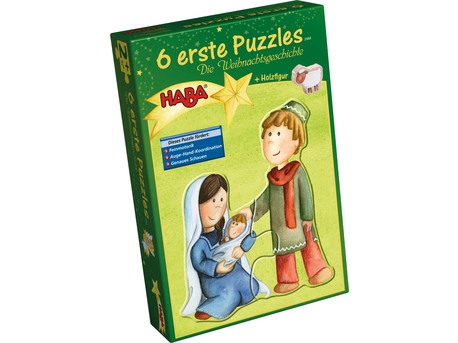 6 Little Hand Puzzles – The Christmas story