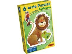6 erste Puzzles – Zahlenzoo