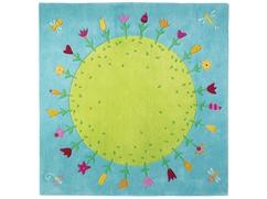 Teppich Blumenplanet