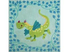 Tapis Dragon fabuleux