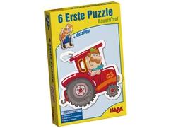 6 erste Puzzles – Bauernhof