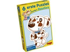 6 erste Puzzles – Haustiere