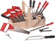 Tool Set in Wooden Tool Box