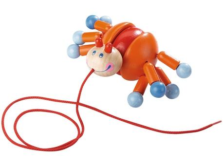 Pulling figure Crab Calino