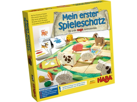 My first Treasury of Games A great big HABA game collection