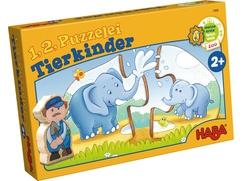1, 2, puzzel mee – Dierenkinderen