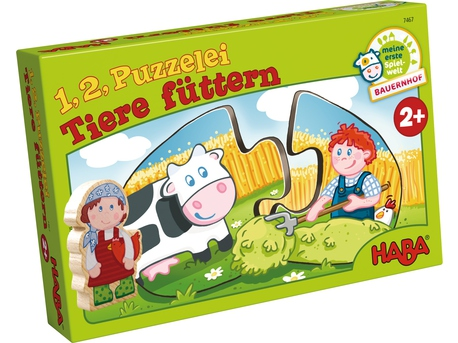 One, Two, Puzzle-to-do – Feeding the animals