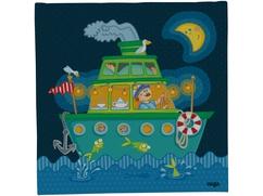 Lámpara de noche El barco de las buenas noches