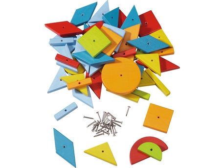 Extra pack Geometric Shapes Tack