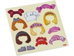 Magnetic game box Dress-up Doll Lilli