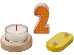 Geburtstagszug – Ergänzungsset 2. Geburtstag