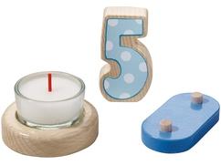 Tren de cumpleaños – Set complementario 5º cumpleaños