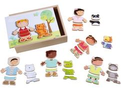 Houten puzzel Kinderen van de wereld