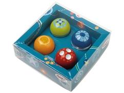 Bolas para descubridores, Set de 4 bolas