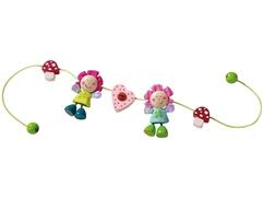 Activité d'éveil pour poussette Elfes-fleurs