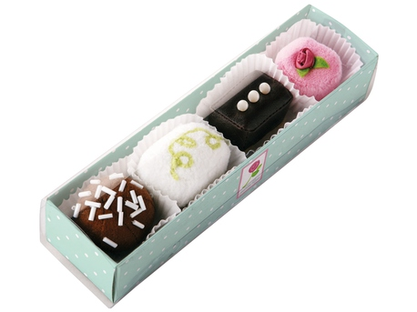 Petit Fours, set of 4
