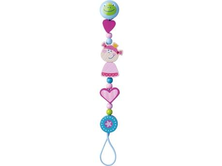 Pacifier Chain Heart Princess