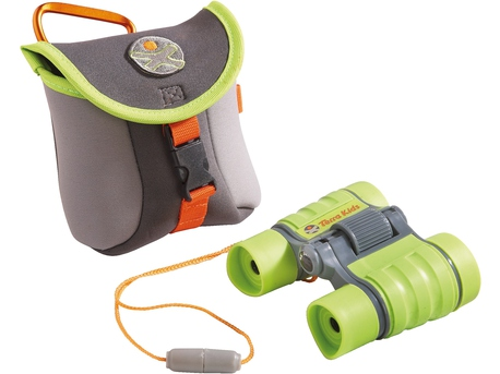 Binoculars with bag