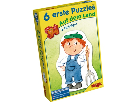 6 Little Hand Puzzle – On the Farm