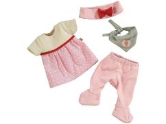 Babypuppen-Kleiderset Häschen