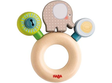 Clutching toy Elephant Egon