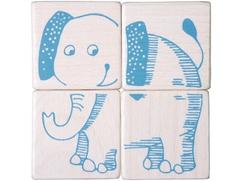 Cubos de puzzle Animales de safari