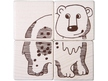 Picture Cubes Puzzle Safari Animals