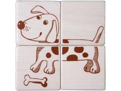 Cubos de puzzle Animales domésticos