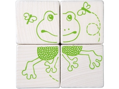 Cubos de puzzle Animales del bosque
