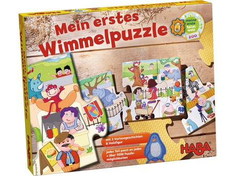 My First Wimmel Puzzle - Zoo
