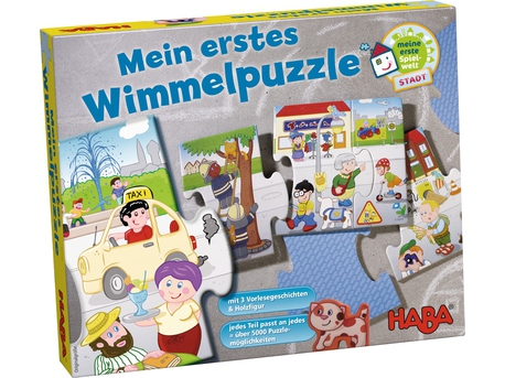 My First Wimmel Puzzle - Town