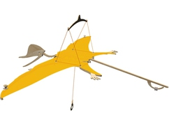 Kit d'assemblage Dinosaure volant