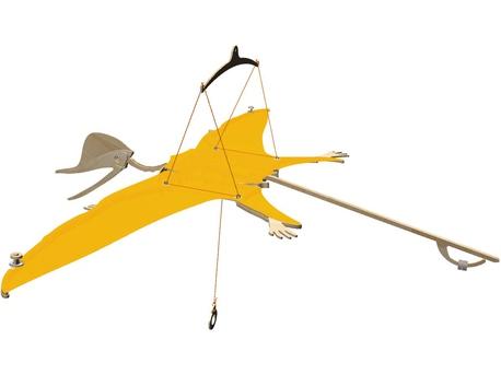 Assembly kit Flying Dinosaur
