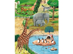 Puzzles Tiere