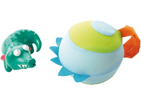 Crocodile squirter with water ball