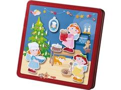 Caja de juego magnético Pastelería de Navidad