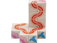 Cubos de puzzle La magia de las flores