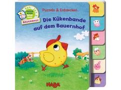 Puzzlebuch – Die Kükenbande auf dem Bauernhof