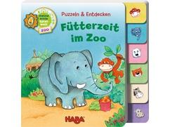 Puzzlebuch – Fütterzeit im Zoo