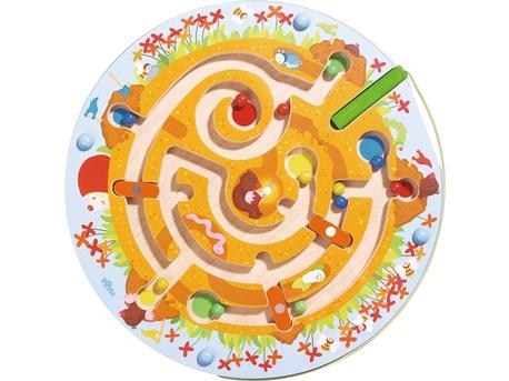 Jeu magnétique Labyrinthe taupinière